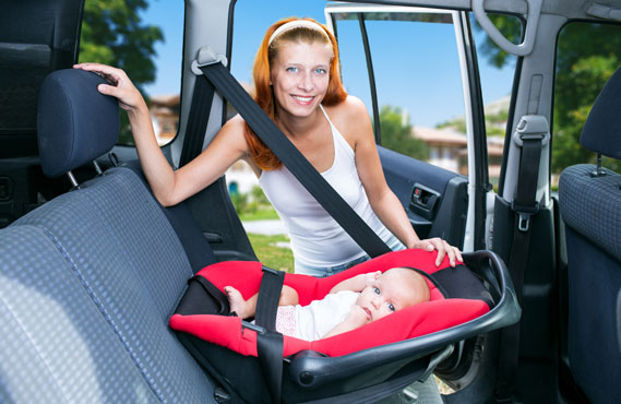 Infant Child Safety Seat