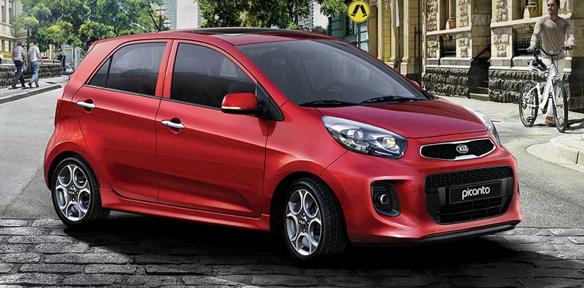 Category A – Kia Picanto or similar