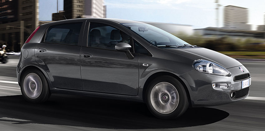 Category C – Fiat Punto Grande or similar