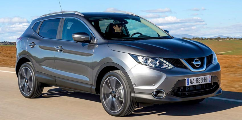 Category JA – Nissan Qashqai Automatic or similar