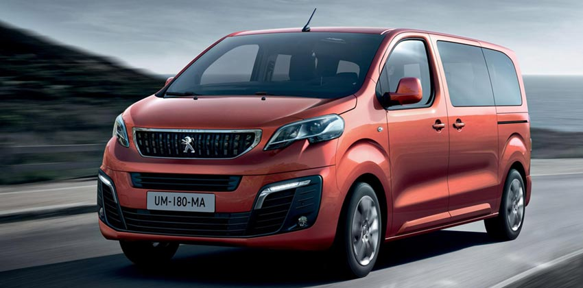 Category LA – Peugeot Traveler Automatic or similar SUV